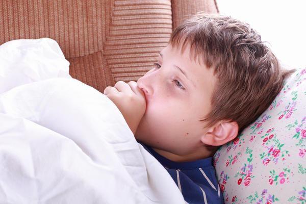 Мальчик заболел