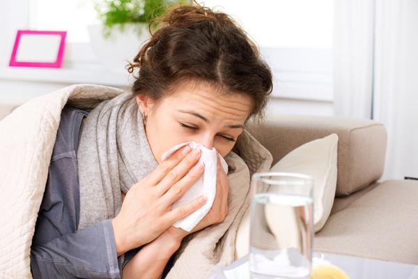 Проявление простуды