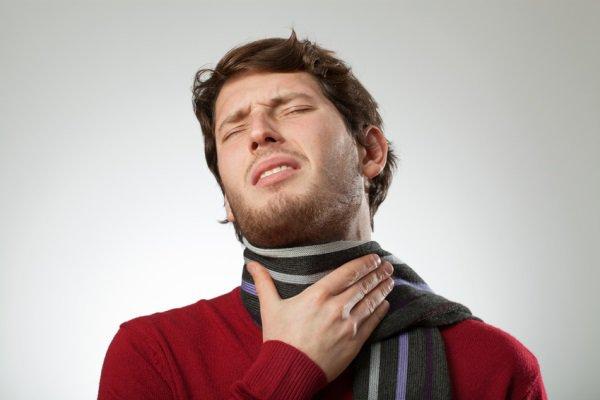 Заболело горло