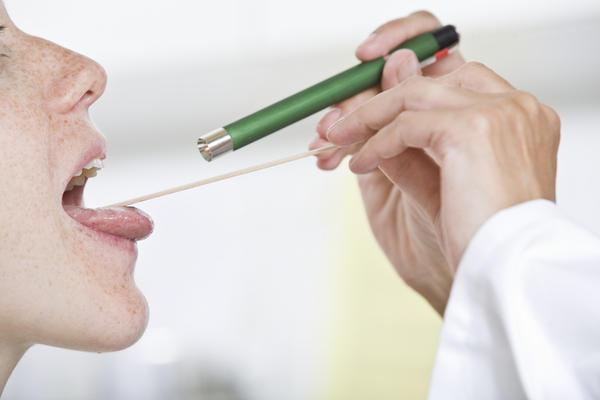 Повреждение миндалин