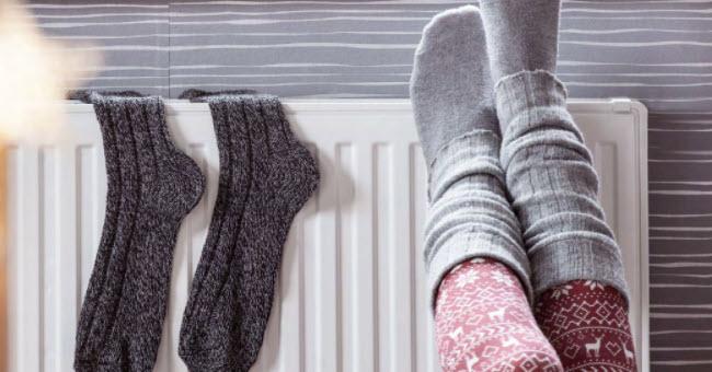 Замерзли ноги